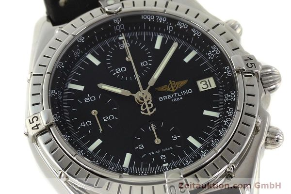 Used luxury watch Breitling Chronomat chronograph steel automatic Kal. B13 ETA 7750 Ref. A13050  | 150163 02