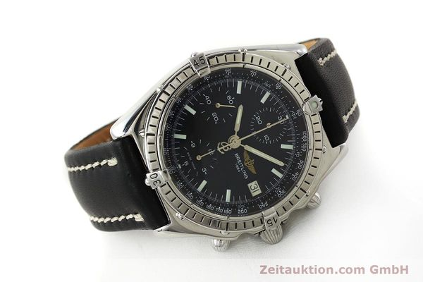 Used luxury watch Breitling Chronomat chronograph steel automatic Kal. B13 ETA 7750 Ref. A13050  | 150163 03