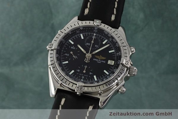 Used luxury watch Breitling Chronomat chronograph steel automatic Kal. B13 ETA 7750 Ref. A13050  | 150163 04