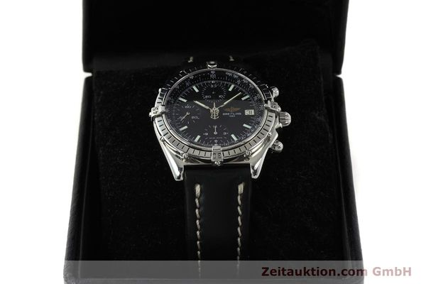 Used luxury watch Breitling Chronomat chronograph steel automatic Kal. B13 ETA 7750 Ref. A13050  | 150163 07