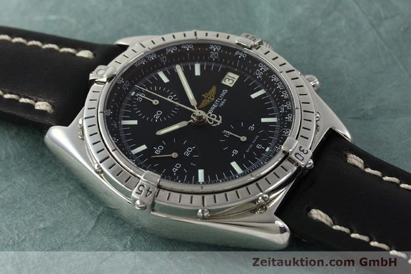 Used luxury watch Breitling Chronomat chronograph steel automatic Kal. B13 ETA 7750 Ref. A13050  | 150163 13