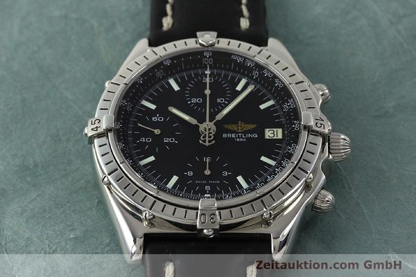 Used luxury watch Breitling Chronomat chronograph steel automatic Kal. B13 ETA 7750 Ref. A13050  | 150163 14