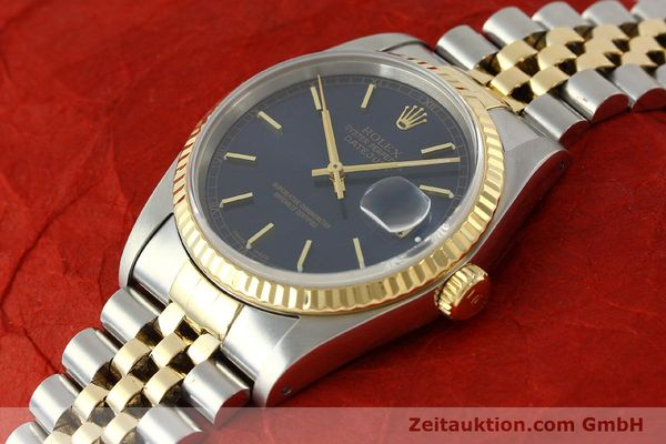 montre de luxe d occasion Rolex Datejust acier / or  automatique Kal. 3135 Ref. 16733  | 150166 01