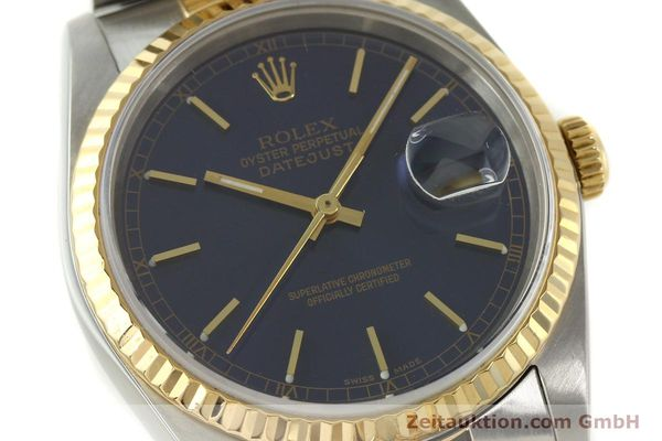 montre de luxe d occasion Rolex Datejust acier / or  automatique Kal. 3135 Ref. 16733  | 150166 02