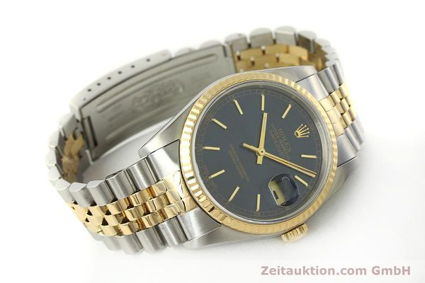 montre de luxe d occasion Rolex Datejust acier / or  automatique Kal. 3135 Ref. 16733  | 150166 03