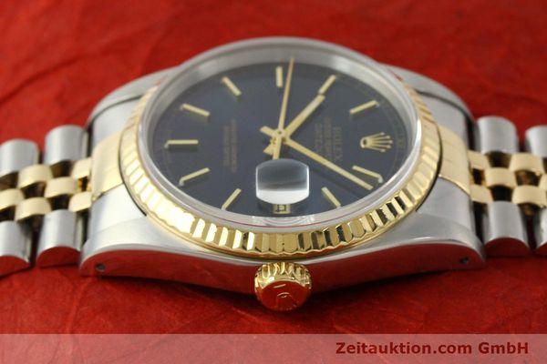 montre de luxe d occasion Rolex Datejust acier / or  automatique Kal. 3135 Ref. 16733  | 150166 05