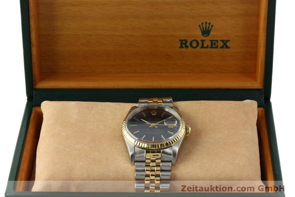 montre de luxe d occasion Rolex Datejust acier / or  automatique Kal. 3135 Ref. 16733  | 150166 07