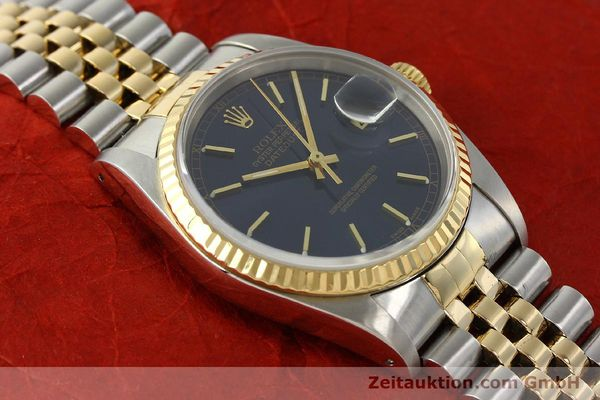 montre de luxe d occasion Rolex Datejust acier / or  automatique Kal. 3135 Ref. 16733  | 150166 16