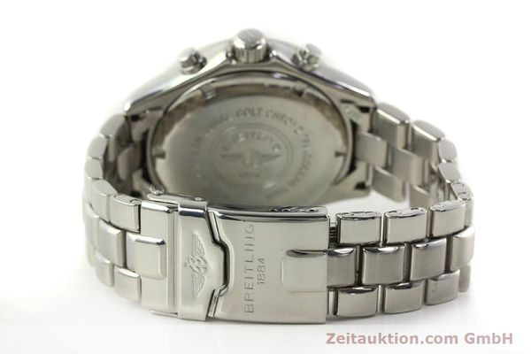 Used luxury watch Breitling Transocean chronograph steel quartz Kal. B53 ETA 251.262 Ref. A53040.1  | 150168 11