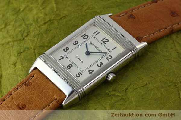 Used luxury watch Jaeger Le Coultre Reverso steel quartz Kal. 608 Ref. 250.8.08  | 150169 01