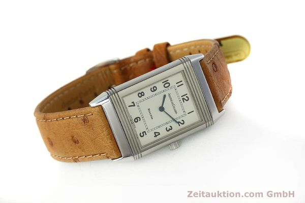 Used luxury watch Jaeger Le Coultre Reverso steel quartz Kal. 608 Ref. 250.8.08  | 150169 03
