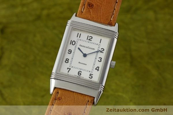 Used luxury watch Jaeger Le Coultre Reverso steel quartz Kal. 608 Ref. 250.8.08  | 150169 04