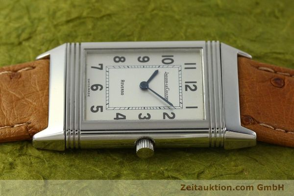 Used luxury watch Jaeger Le Coultre Reverso steel quartz Kal. 608 Ref. 250.8.08  | 150169 05