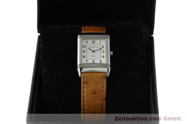 Used luxury watch Jaeger Le Coultre Reverso steel quartz Kal. 608 Ref. 250.8.08  | 150169 07
