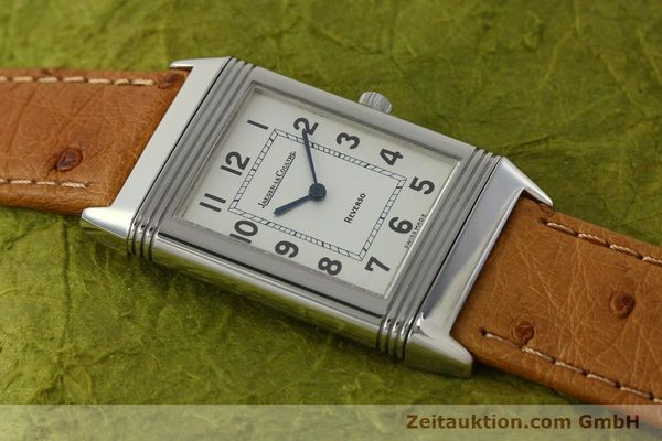 Used luxury watch Jaeger Le Coultre Reverso steel quartz Kal. 608 Ref. 250.8.08  | 150169 14