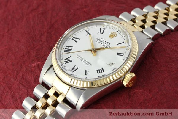 Used luxury watch Rolex Datejust steel / gold automatic Kal. 3035 Ref. 16013  | 150174 01