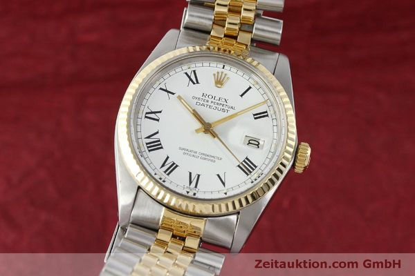 Used luxury watch Rolex Datejust steel / gold automatic Kal. 3035 Ref. 16013  | 150174 04