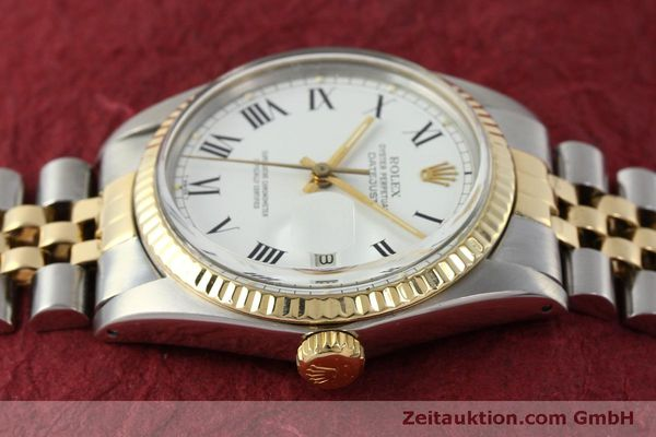 Used luxury watch Rolex Datejust steel / gold automatic Kal. 3035 Ref. 16013  | 150174 05