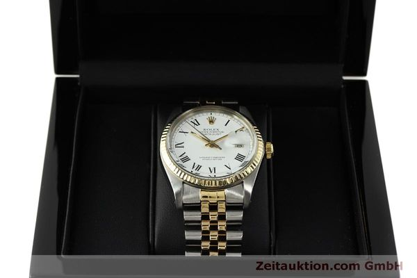 Used luxury watch Rolex Datejust steel / gold automatic Kal. 3035 Ref. 16013  | 150174 07