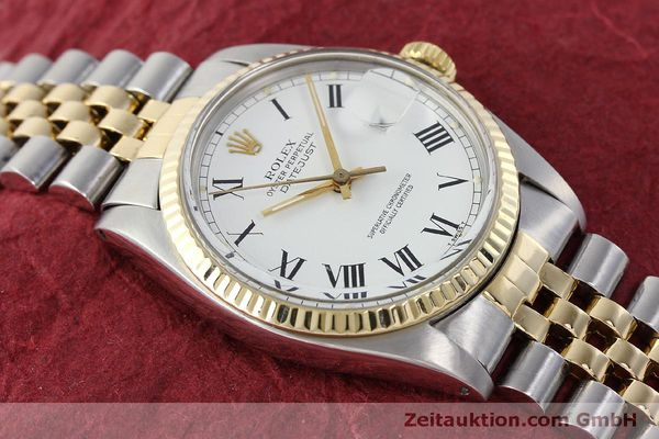 Used luxury watch Rolex Datejust steel / gold automatic Kal. 3035 Ref. 16013  | 150174 15