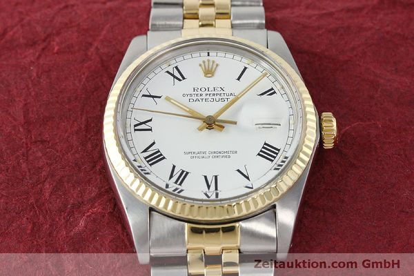 Used luxury watch Rolex Datejust steel / gold automatic Kal. 3035 Ref. 16013  | 150174 16