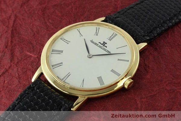 Used luxury watch Jaeger Le Coultre * 18 ct gold manual winding Kal. 839  | 150175 01
