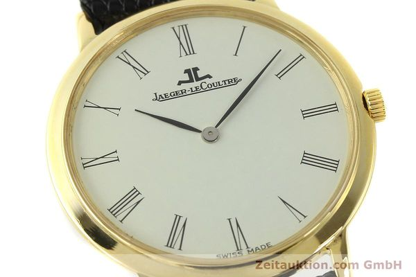 Used luxury watch Jaeger Le Coultre * 18 ct gold manual winding Kal. 839  | 150175 02