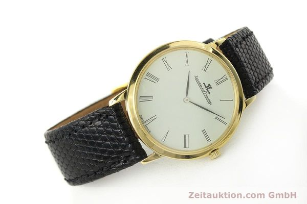 Used luxury watch Jaeger Le Coultre * 18 ct gold manual winding Kal. 839  | 150175 03