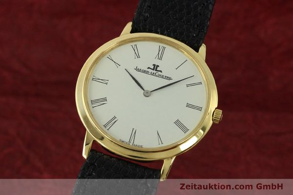 Used luxury watch Jaeger Le Coultre * 18 ct gold manual winding Kal. 839  | 150175 04