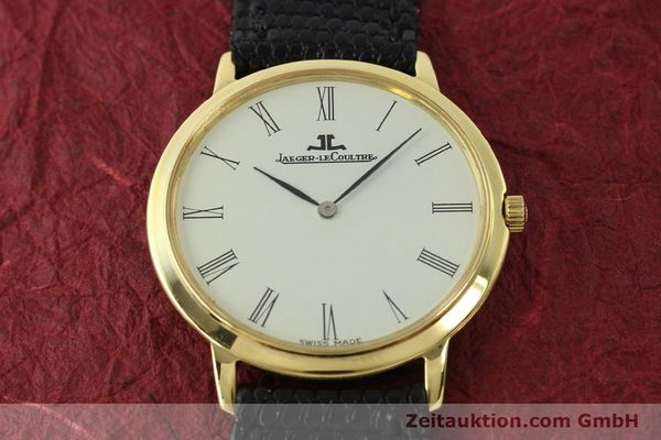 Used luxury watch Jaeger Le Coultre * 18 ct gold manual winding Kal. 839  | 150175 14
