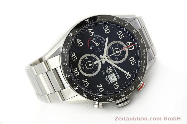 Used luxury watch Tag Heuer Carrera chronograph steel automatic Kal. 1887 Ref. CAR2A10  | 150177 03