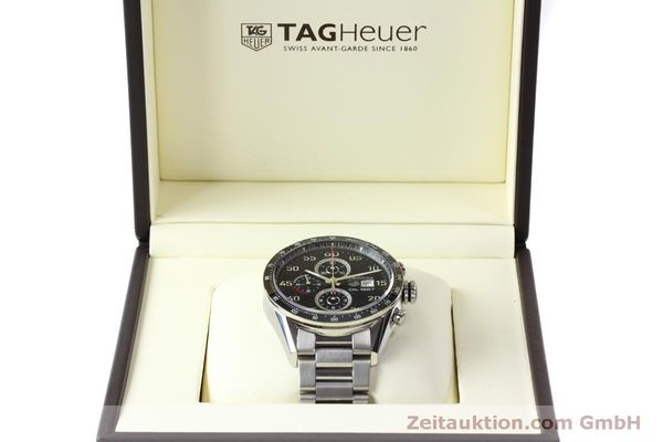 Used luxury watch Tag Heuer Carrera chronograph steel automatic Kal. 1887 Ref. CAR2A10  | 150177 07