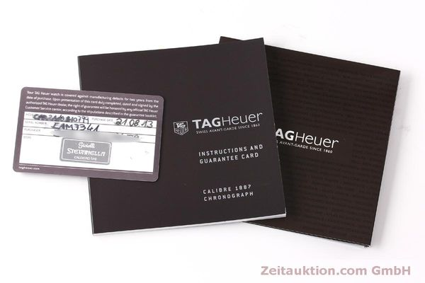 Used luxury watch Tag Heuer Carrera chronograph steel automatic Kal. 1887 Ref. CAR2A10  | 150177 08