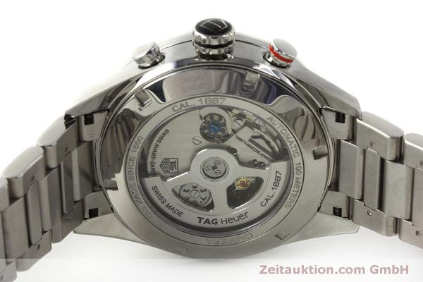 Used luxury watch Tag Heuer Carrera chronograph steel automatic Kal. 1887 Ref. CAR2A10  | 150177 09