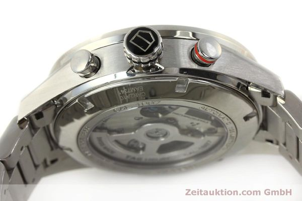 Used luxury watch Tag Heuer Carrera chronograph steel automatic Kal. 1887 Ref. CAR2A10  | 150177 11