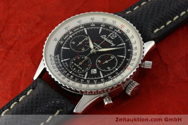 Used luxury watch Breitling Montbrillant chronograph steel automatic Kal. B41 ETA 2892A2 Ref. A41330  | 150178 01