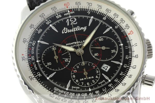 Used luxury watch Breitling Montbrillant chronograph steel automatic Kal. B41 ETA 2892A2 Ref. A41330  | 150178 02