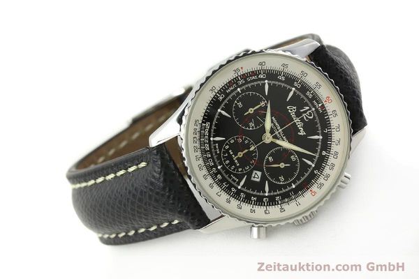 Used luxury watch Breitling Montbrillant chronograph steel automatic Kal. B41 ETA 2892A2 Ref. A41330  | 150178 03