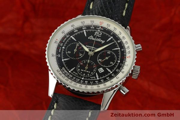 Used luxury watch Breitling Montbrillant chronograph steel automatic Kal. B41 ETA 2892A2 Ref. A41330  | 150178 04