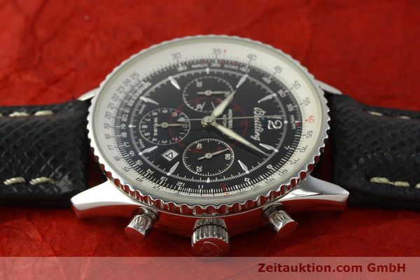 Used luxury watch Breitling Montbrillant chronograph steel automatic Kal. B41 ETA 2892A2 Ref. A41330  | 150178 05