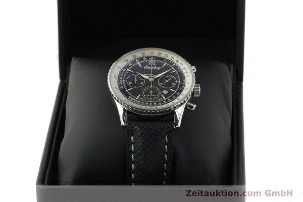 Used luxury watch Breitling Montbrillant chronograph steel automatic Kal. B41 ETA 2892A2 Ref. A41330  | 150178 07