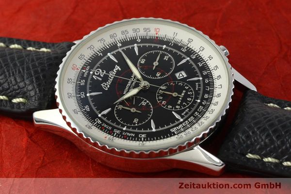 Used luxury watch Breitling Montbrillant chronograph steel automatic Kal. B41 ETA 2892A2 Ref. A41330  | 150178 14