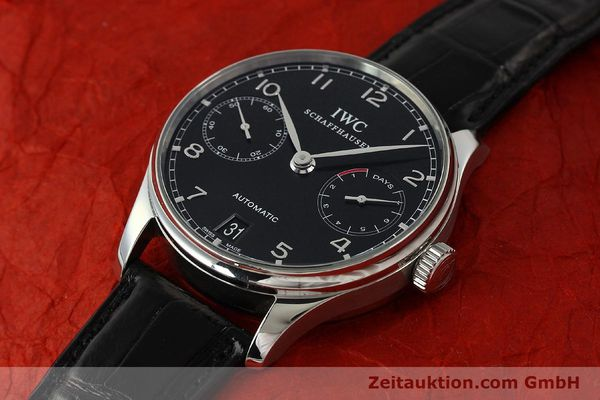 Used luxury watch IWC Portugieser steel automatic Kal. 51011  | 150183 01