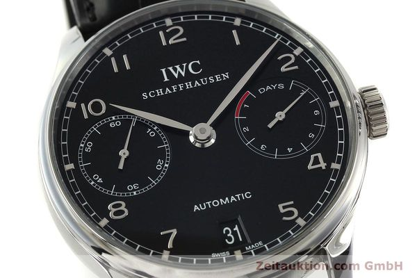 Used luxury watch IWC Portugieser steel automatic Kal. 51011  | 150183 02