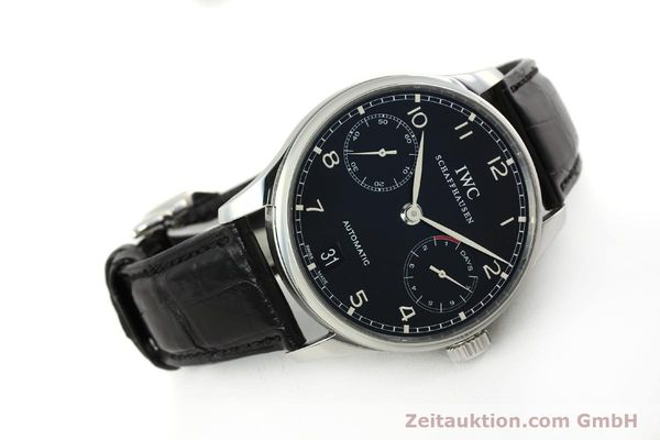 Used luxury watch IWC Portugieser steel automatic Kal. 51011  | 150183 03