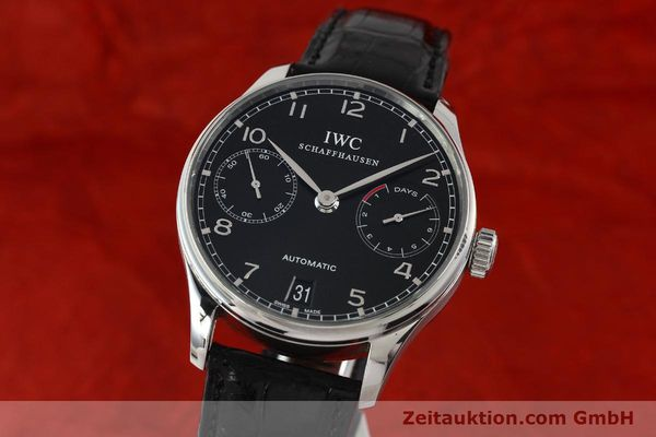 Used luxury watch IWC Portugieser steel automatic Kal. 51011  | 150183 04