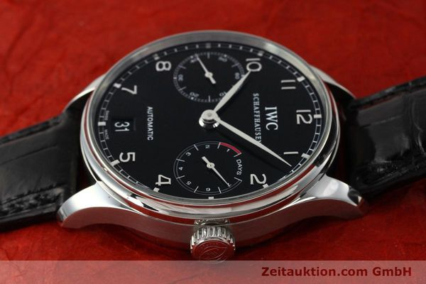 Used luxury watch IWC Portugieser steel automatic Kal. 51011  | 150183 05