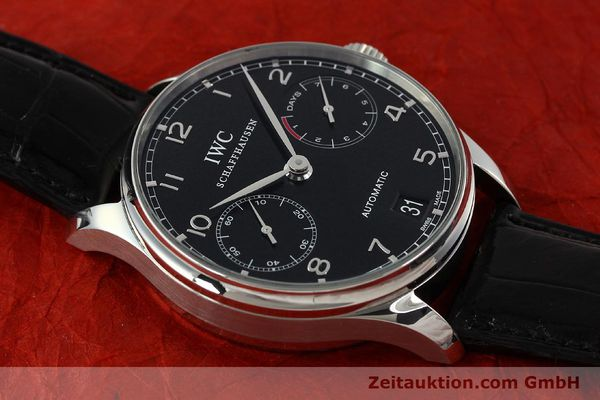 Used luxury watch IWC Portugieser steel automatic Kal. 51011  | 150183 16