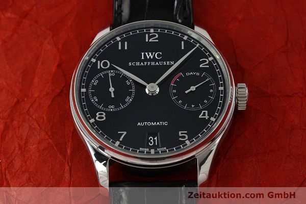 Used luxury watch IWC Portugieser steel automatic Kal. 51011  | 150183 17