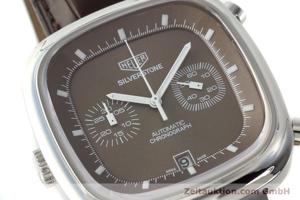 Used luxury watch Tag Heuer Silverstone chronograph steel automatic Kal. 11 ETA 2892A2 Ref. CAM2111 LIMITED EDITION | 150191 02